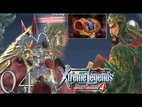 Let's Play Dynasty Warriors 4 + XL Lu Bu 04: Lu Bu & Guan Yu fights for Red Hare #KTFamily