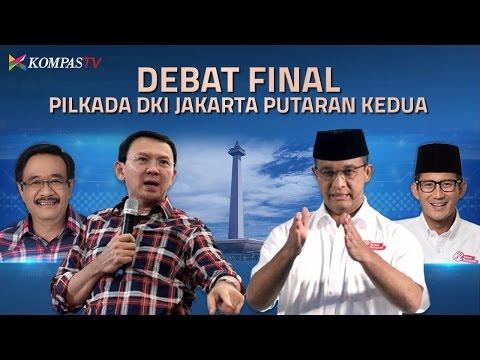 Debat KPU - Cagub dan Cawagub DKI Putaran Kedua