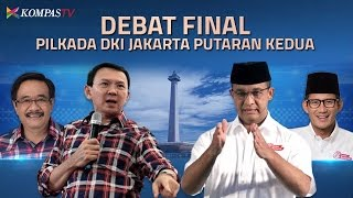 Video Debat KPU - Cagub dan Cawagub DKI Putaran Kedua download MP3, 3GP, MP4, WEBM, AVI, FLV September 2017