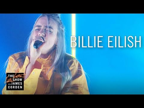 Billie Eilish - Ocean Eyes ( Live On The Late Late Show )