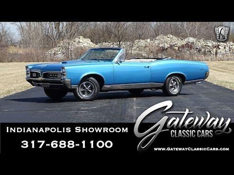 1967 Pontiac GTO Gateway Classic Cars Indianapolis-1279