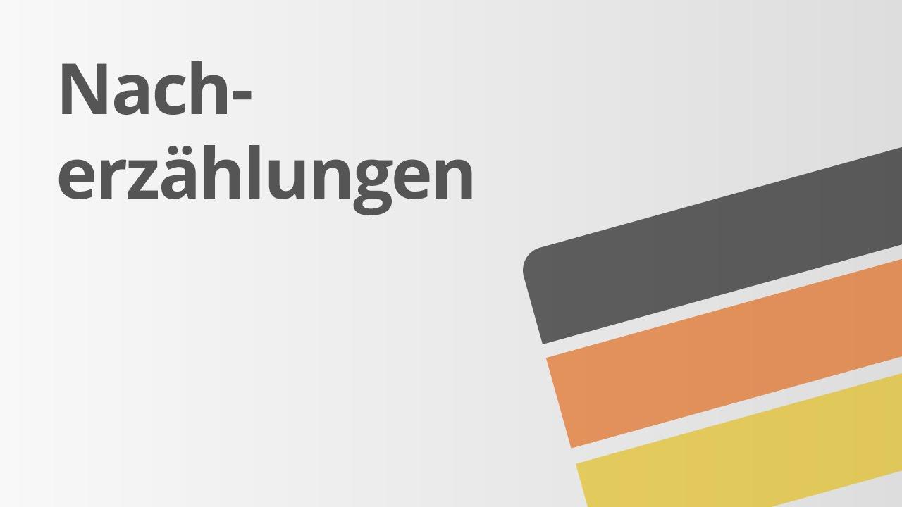 übung Eine Nacherzählung Schreiben Deutsch Texte Schreiben