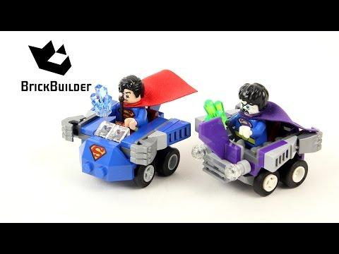 Lego Super Heroes 76068 Mighty Micros: Superman vs. Bizarro - Lego Speed Build