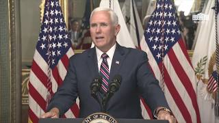 Vice President Pence Participates in the Swearing-in Ceremony of the U.S. Ambassador to Germany