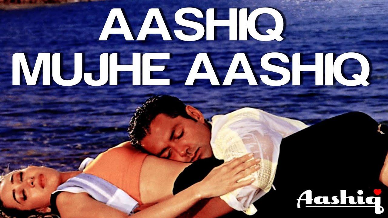 Download Aashiq Mujhe Aashiq - Video Song   Aashiq   Bobby Deol & Karisma Kapoor   Alka Yagnik & Roop Kumar