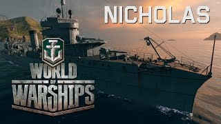 World of Warships - Nicholas The Sneaky Destroyer