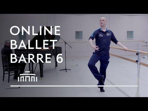 Ballet Barre 6 (Online Ballet Class) - Dutch National Ballet