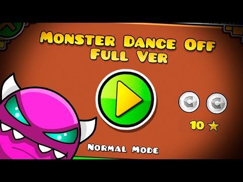 MONSTER DANCE OFF FULL VERSION BY: SLOTHBLOCK || Geometry Dash 2.11