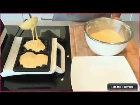 Как приготовить домашние вафли? Нет ничего проще