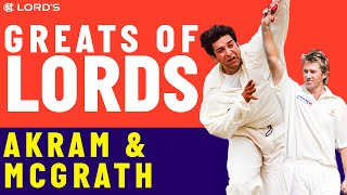 Wasim Akram vs Glenn McGrath | Who's The Greatest?