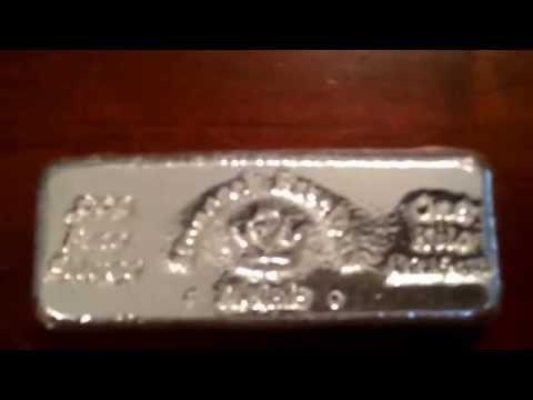 Monarch Precious Metals silver kilo bar