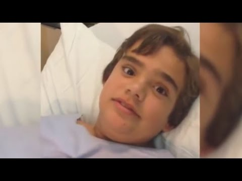 Thumbnail: Watch This Boy Whistle When He Breathes After Swallowing Part of Dog Toy