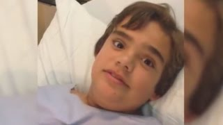Watch This Boy Whistle When He Breathes After Swallowing Part of Dog Toy