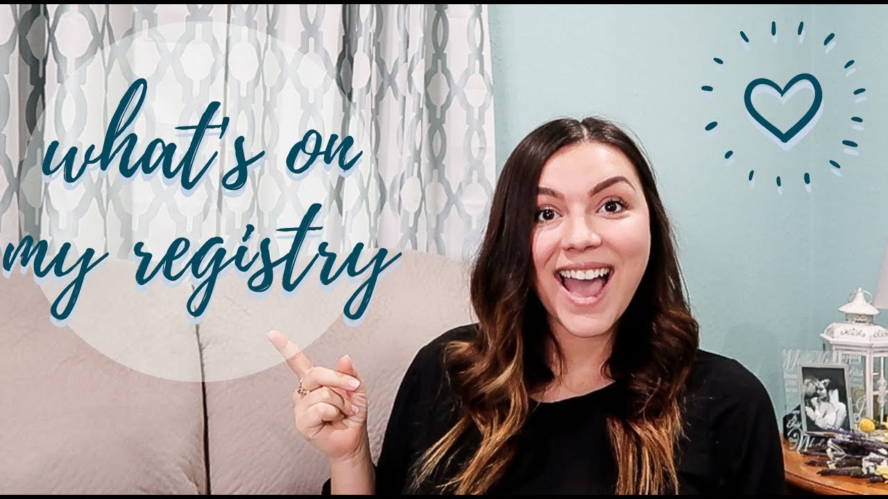 What's On My Registry | Baby Registry Must Haves ...