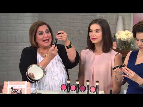 Laura Geller Baked Gelato Vivid Swirl Blush with Brush with Gabrielle Kerr