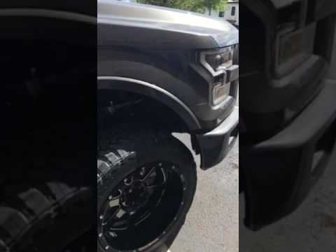 "Wicked Customs 2015-2017 Ford F-150 3/4"" bumper spacer system - YouTube"