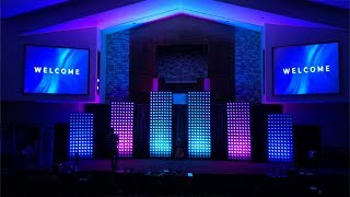 A modern church stage design idea (and how we did it)