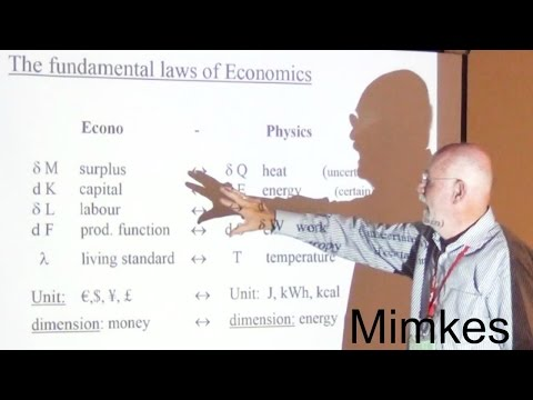 Jurgen Mimkes | Calculus-Based (Bio-) Econophysics: Synthesis of Social and Natural Sciences?