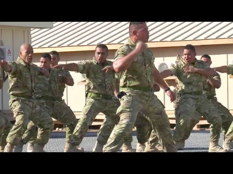 Tongan Marines War Dance  Dont Mess With These Warriors