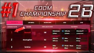 #1 Team CODM Championship Stage 2B | COD MOBILE  2020