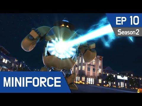 Miniforce Season2 EP10 Halloween Party Pt  2 (English Ver)