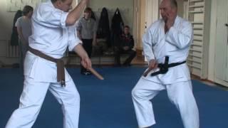 Ножевой бой. Урок 1