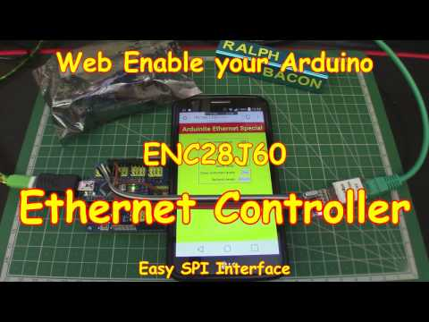 #74 Web Enable Your Arduino (ENC28J60 Or W5100 Ethernet Controller)