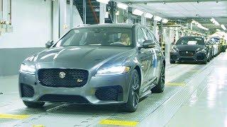2020 Jaguar XF Production