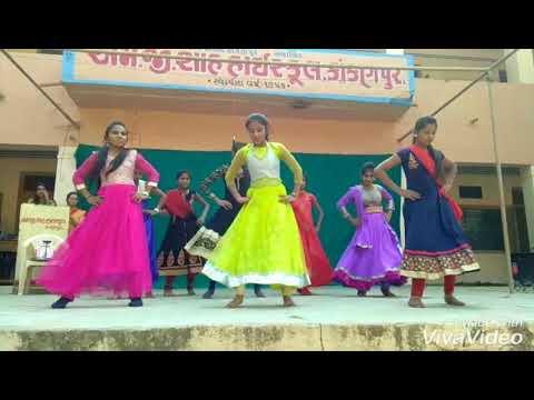 Cham Cham Dance Remix With Udi Udi Jaye Dil Ki Patang  M.g.shah High School , Kakanpur