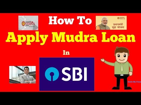 How to  Apply Mudra Loan in SBI | Complete Guide on SBI Mudra Loan