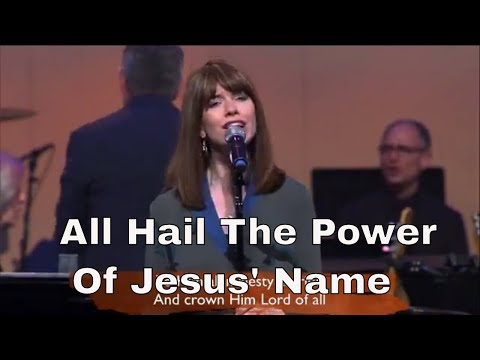 All Hail The Power Of Jesus' Name (with Lyrics) - The Gettys Live!