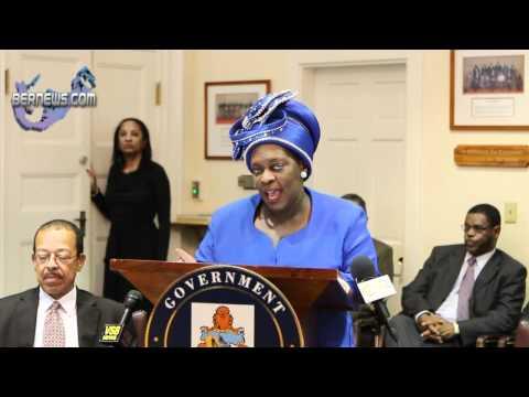 Premier Paula Cox's Post Throne Speech Address