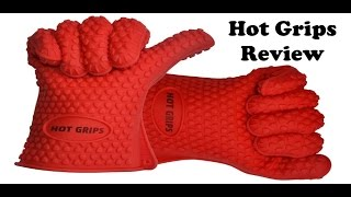 REVIEW: Hot Grips Silicone BBQ Gloves   Pigskin Barbeque