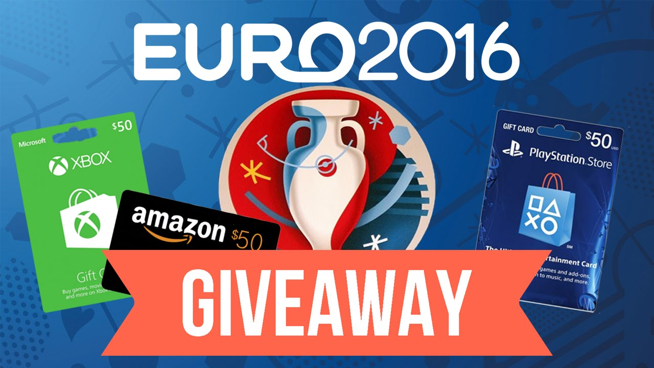Euro 2016 Giveaway 50 Xbox Psn Or Amazon Card Youtube
