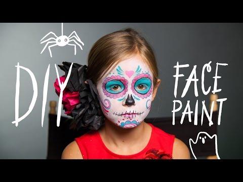 DIY Face Paint: Sugar Skull Makeup for Halloween