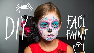 DIY Face Paint: Sugar Skull Makeup for Halloween