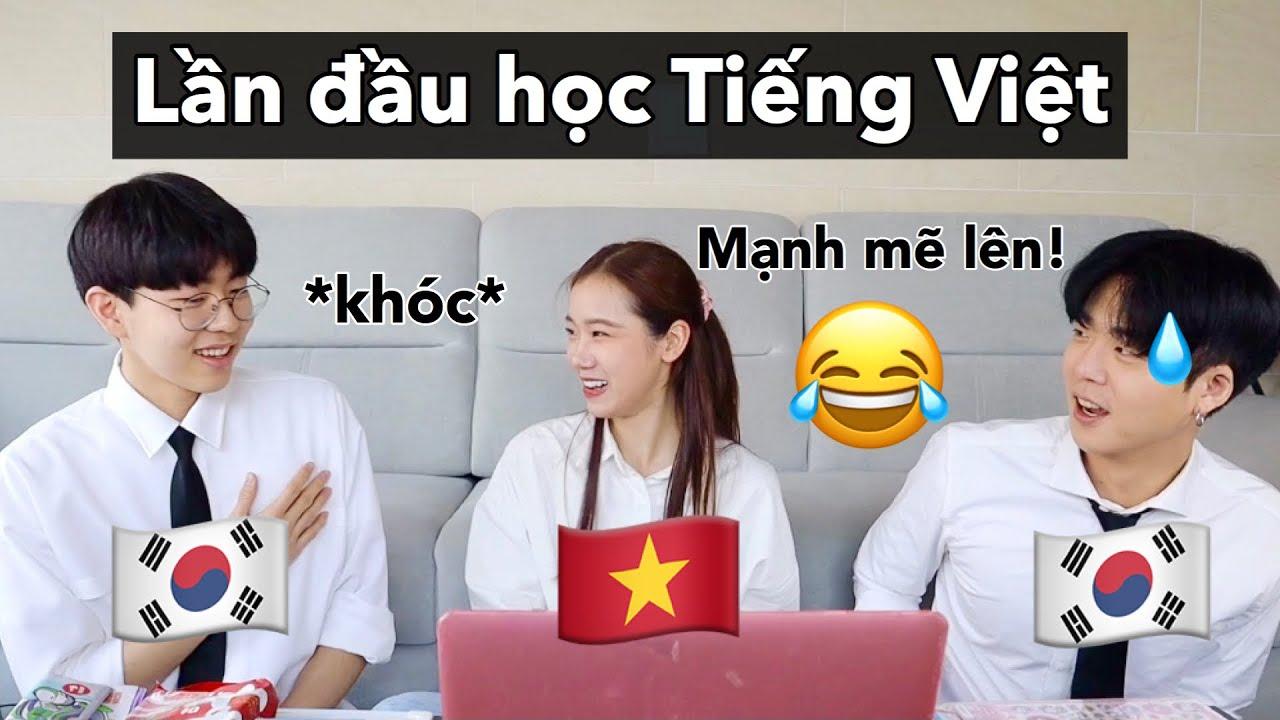 Download Nam sinh cấp 3 Hàn Quốc lần đầu học tiếng Việt 🇻🇳🇰🇷