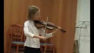Violin - Vivaldi G-dur concert 1 titles - Marko Gitta