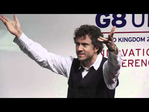 Thomas Heatherwick at G8 Innovation Conference