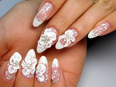 Дизайн на ногтях акрилом