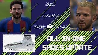 FIFA 14 ✪ ALL IN BOOTS, FACES, WC KITS v2 & LA LIGA SCOREBOARDS UPDATE ✪