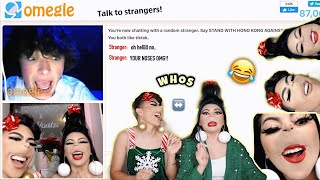 *FUNNY AF* SCARING STRANGERS ON OMEGLE!! | Louie's Life