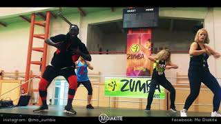 MO DIAKITE: Randy Leroy - BEBE Feat Bollebof (Zumba® Fitness choreography)
