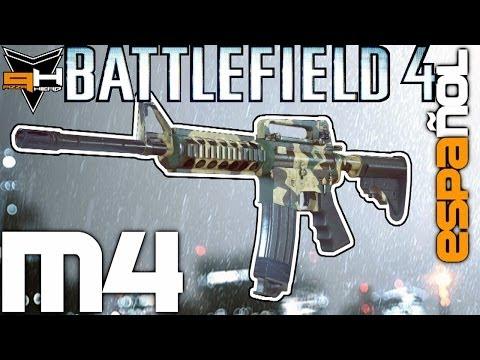 M4 Reseña Battlefield 4 Guía de Armas ( PizzaHead ) Battlefield 4 Gameplay [ Español ] HD