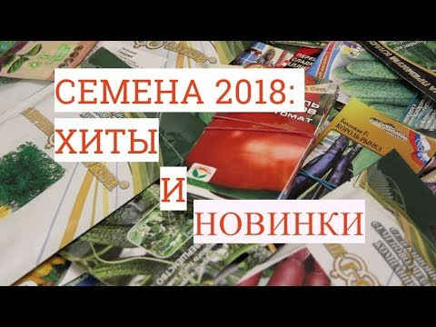 Обзор Семян 2018: Хиты и Новинки. Мой Выбор. Теперь Мы Идем К Вам!