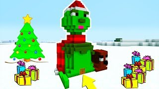 "Minecraft: How To Make a Grinch House in Minecraft ""The Grinch 2018"""