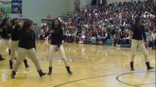 East River High School Step Team 2013 Prep-Rally