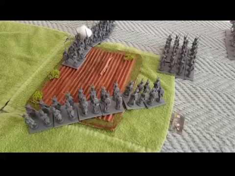 Black powder battle report