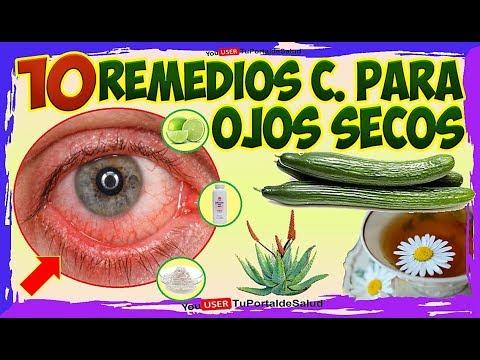 OJO ROJO RESECOS-10 Remedios Caseros para los Ojos Secos ...