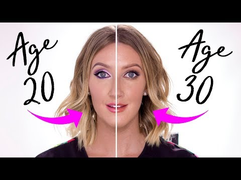 How I Do My Makeup In My 30's Vs My 20's  Adapting Makeup As You Age